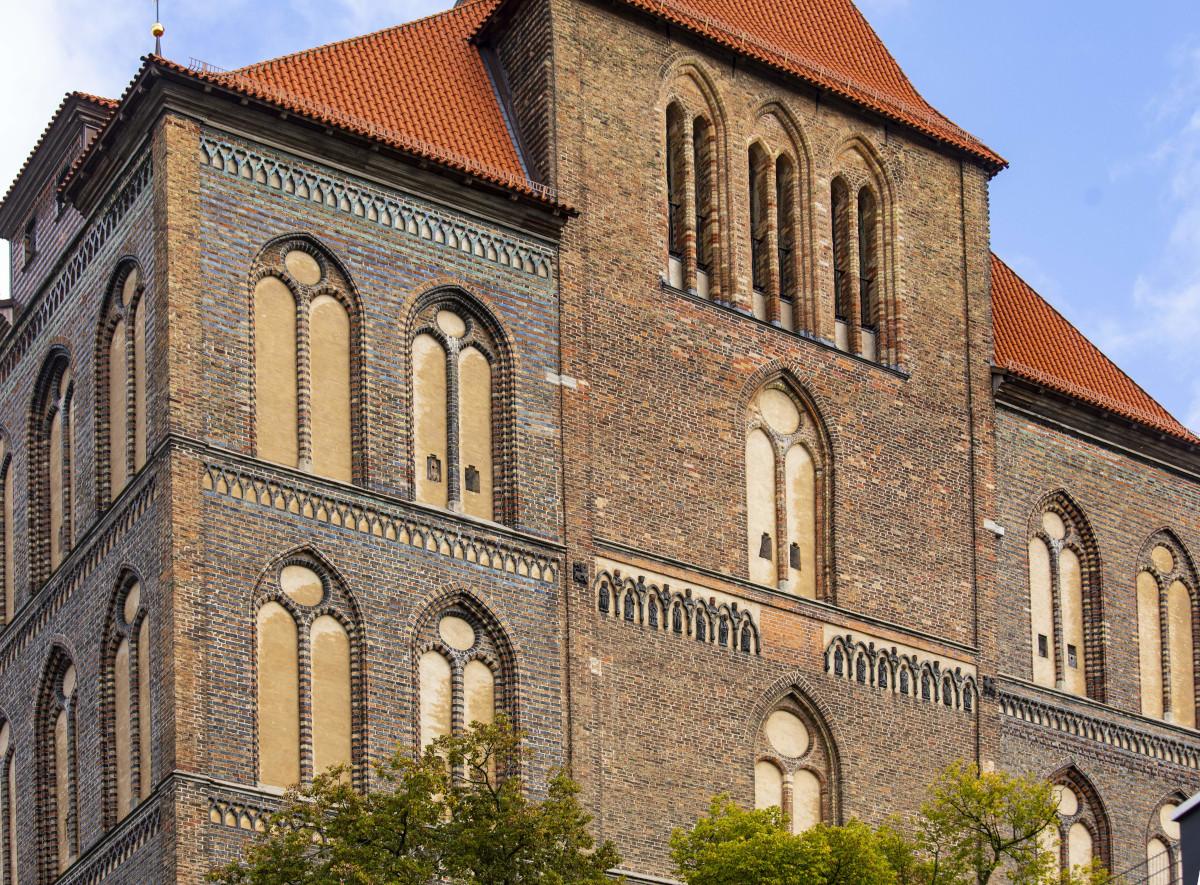 St.-Marien-Kirche, Turmfassade
