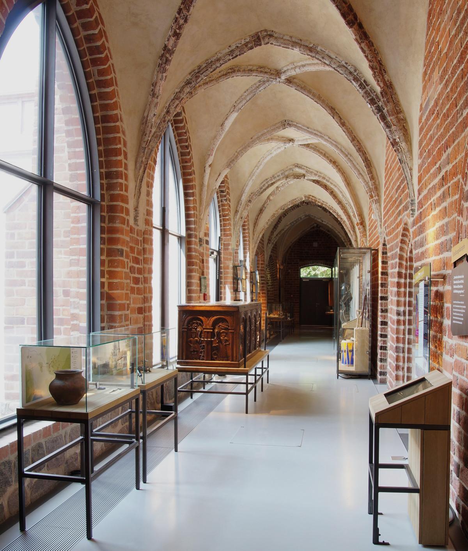 Franziskanerkloster, Blick in die Dauerausstellung