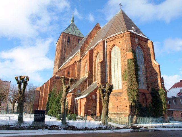 St.-Marien-Kirche, Sławno (Schlawe)