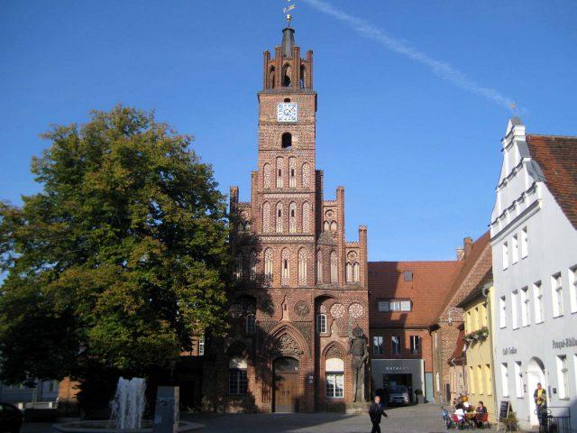 Rathaus und Roland, Brandenburg/Havel