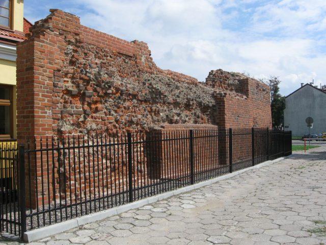 Mur miejski, Płock