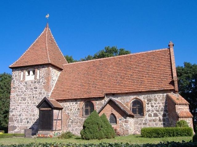 Kościół w Laase, Ziemia Bützower Land