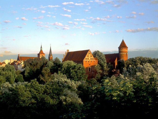 Zamek, Olsztyn