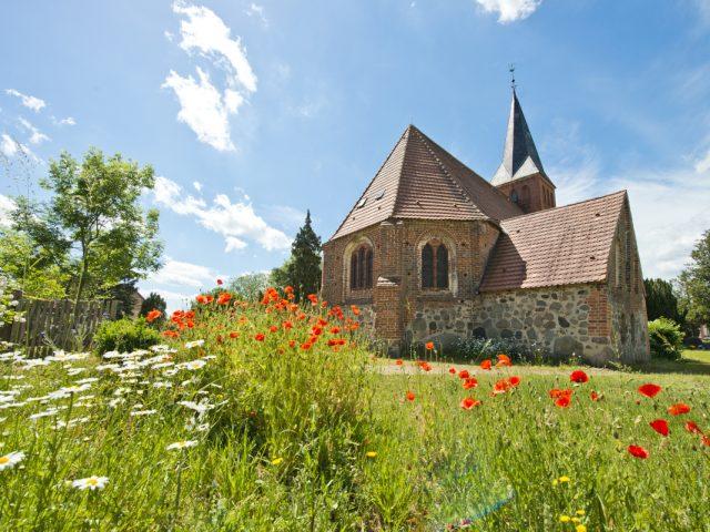 Kościół w Qualitz, Ziemia Bützower Land