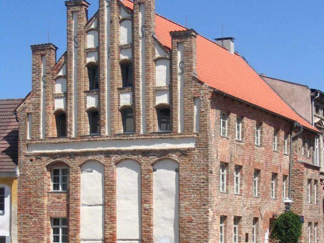 Gothic gabled house, Anklam