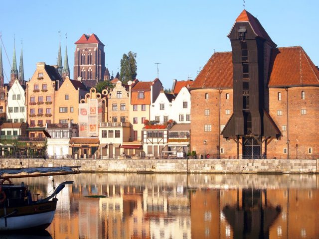 Crane, Gdańsk
