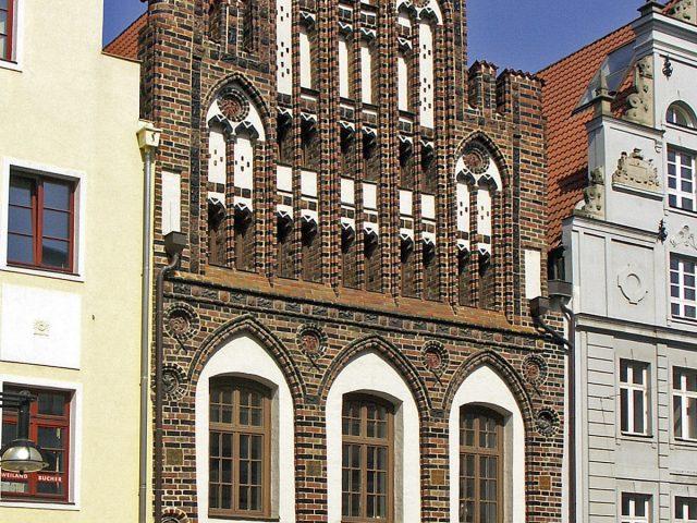 House at Kröpeliner Street 82, Rostock