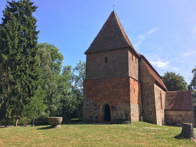 Kościół w Moisall, Ziemia Bützower Land