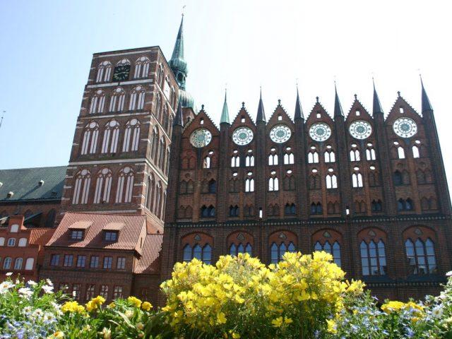 Ratusz, Stralsund