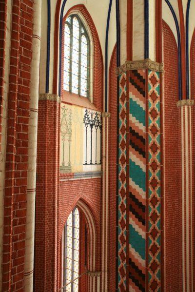 Münster innen, Blick auf die Triforienzone, Bad Doberan