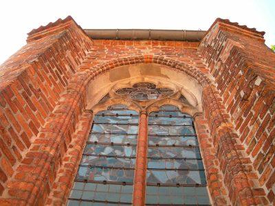 Nikolaihof, Fenster der Kapelle, Bardowick
