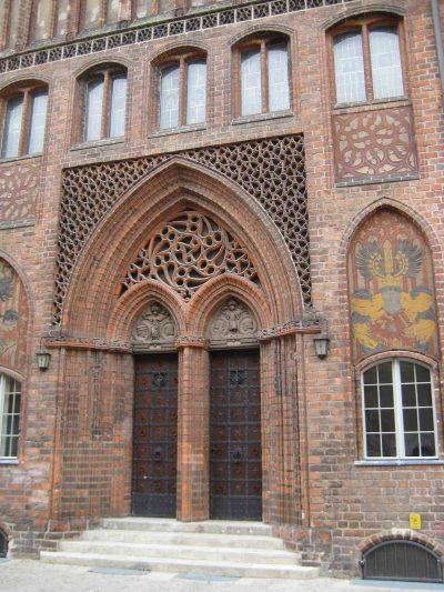 Portal des Altstädtischen Rathaus, Brandenburg/Havel