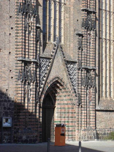 Katharinenkirche, Seitenportal, Brandenburg/Havel
