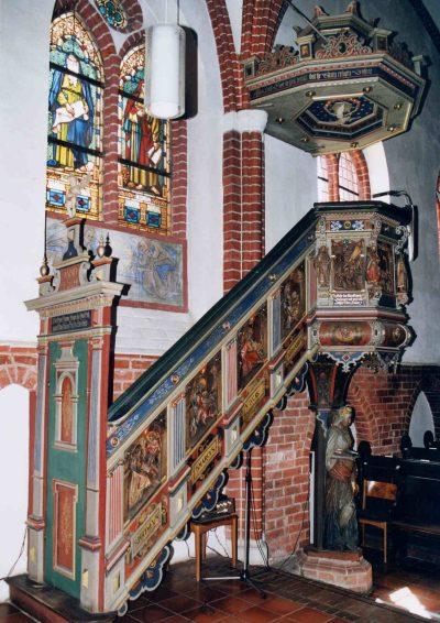 St-Johannis-Kirche, Kanzel, Dahlenburg