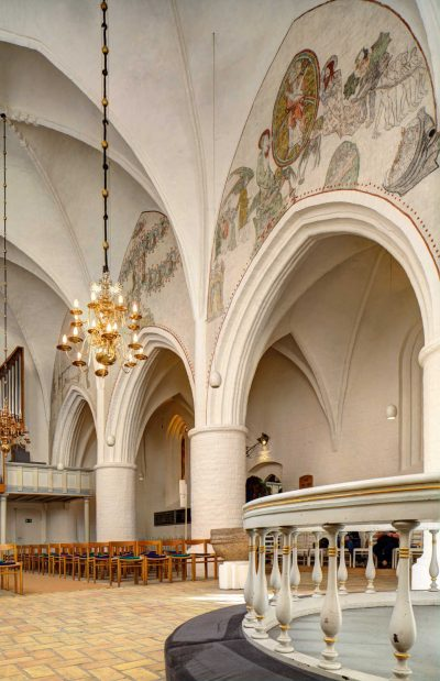Helligåndskirken, innen, Flensburg