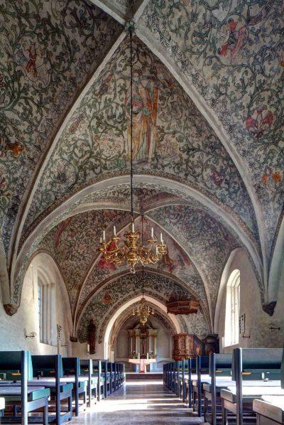 St.-Johannis-Kirche, Deckenbemalung, Flensburg