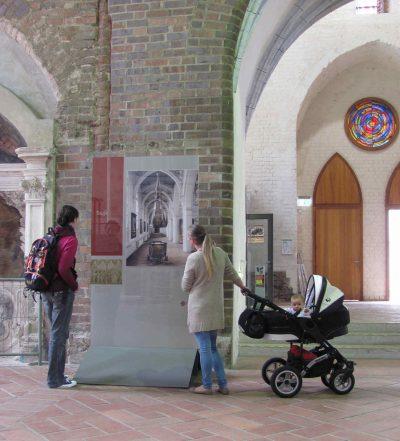 Marienkirche, innen, Dauerausstellung, Frankfurt (Oder)