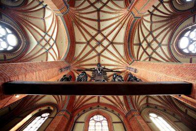 Pfarrkirche St. Marien, Deckengewölbe, Güstrow