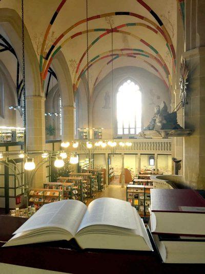 Kulturquartier Mönchenkloster, Bibliothek, Jüterbog