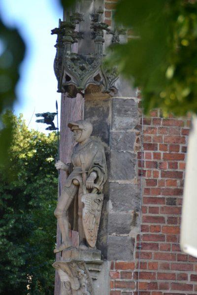 Rathaus, Detail, Jüterbog