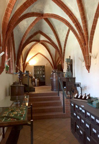 Kloster Zinna, innen
