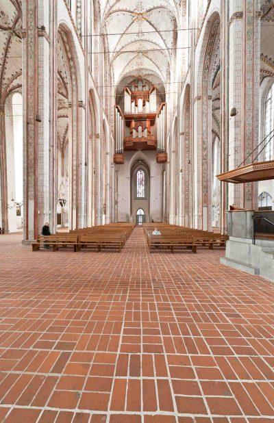 Marienkirche, Blick vom Altar, Lübeck