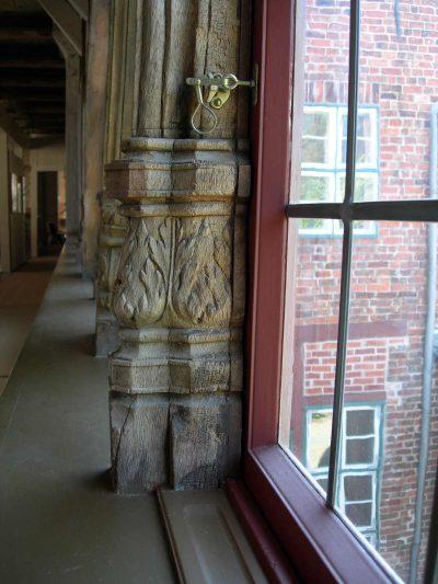 Rathaus, Fenster, Detail, Lüneburg