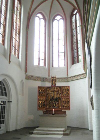 St.-Johannis-Kirche, Blick in eine Seitenkapelle, Lüneburg
