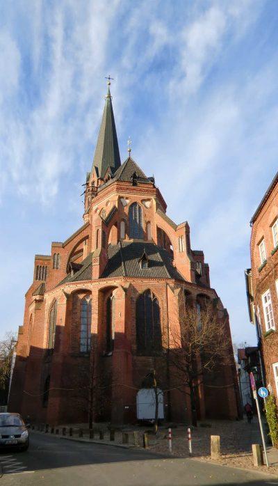 St.-Nicolai-Kirche, Ostseite, Lüneburg