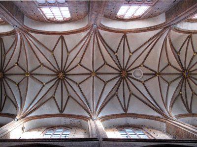 St.-Nicolai-Kirche, Gewölbe Hauptschiff, Lüneburg