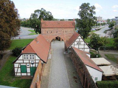 Friedländer Tor, Vortor, Stadtseite, Neubrandenburg