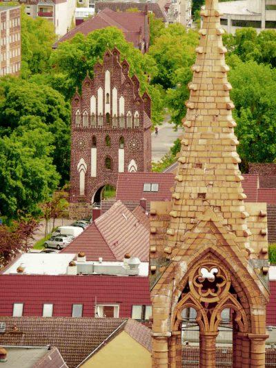 Neues Tor, Haupttor, Stadtseite, Neubrandenburg