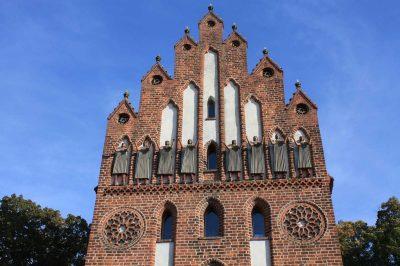 Neues Tor, Haupttor, Stadtseite, Detail, Neubrandenburg