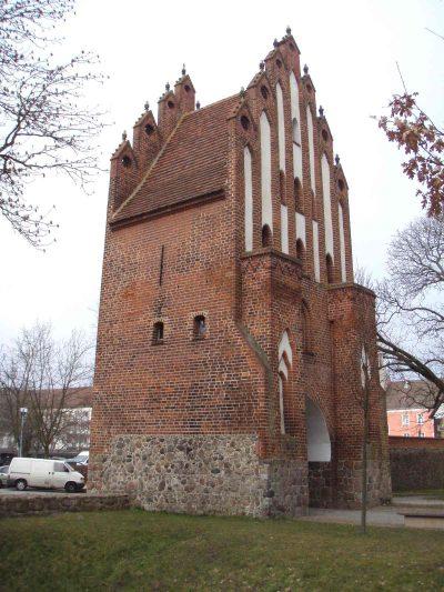 Neues Tor, Haupttor, Feldseite, Neubrandenburg