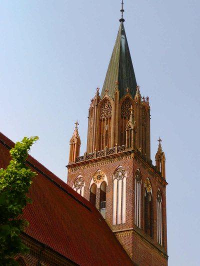 St.-Marien-Kirche, Turm, Neubrandenburg