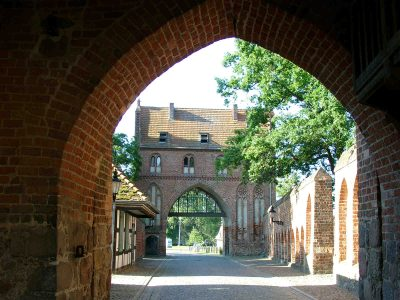 Stargarder Tor, Vortor, Stadtseite, Neubrandenburg