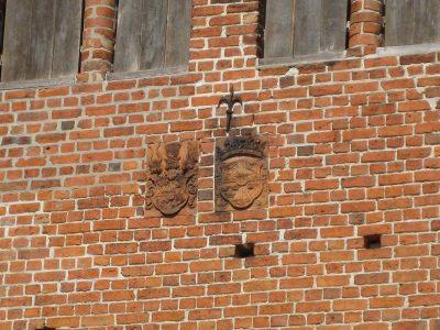 Glockenturm, Wappen an der Südseite, Neukloster