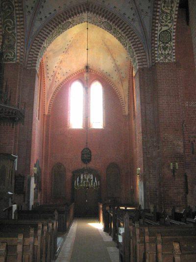 Klosterkirche St. Maria Sonnenkamp, Blick ins Querschiff, Neukloster