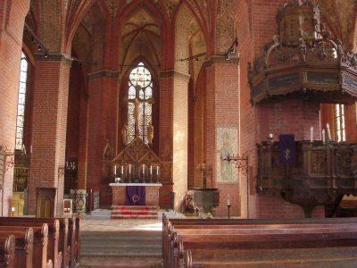 St. Georgen-Kirche, innen, Parchim
