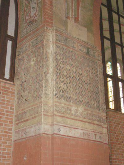 St.-Marien-Kirche, Wandmalerei, Parchim