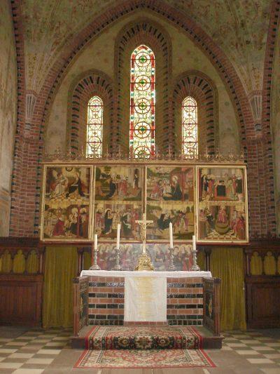 St.-Marien-Kirche, Blick auf den Altar, Parchim