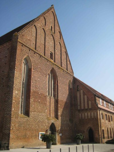 Dominikanerkloster, Westseite der Kirche, Prenzlau
