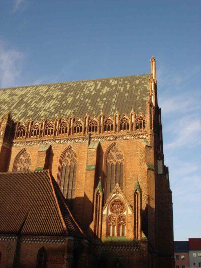 St.-Marien-Kirche, Detail Südseite, Prenzlau