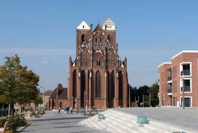 St.-Marien-Kirche, Ostseite, Prenzlau