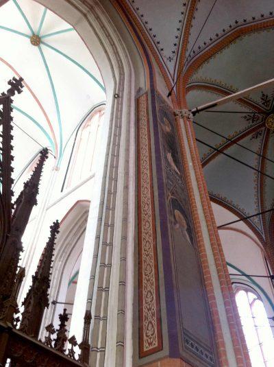 Dom zu Schwerin, Wandmalereien