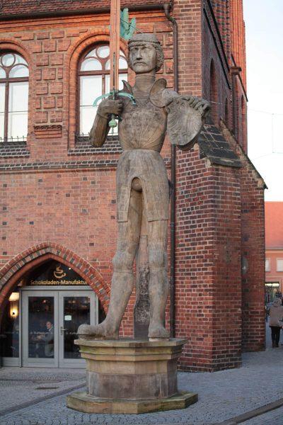 Rathaus, Rolandfigur, Stendal