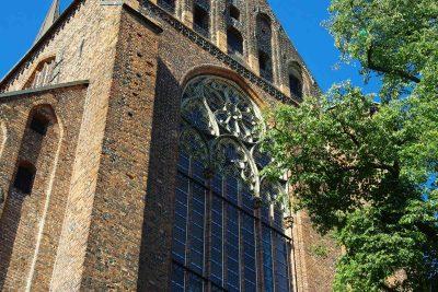 Marienkirche, Detail, Stralsund