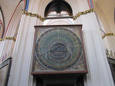 Nikolaikirche, Astronomische Uhr, Stralsund