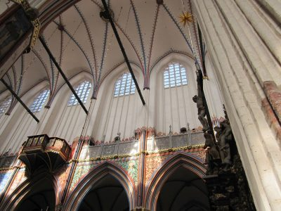 Nikolaikirche, Gewölbe, Stralsund