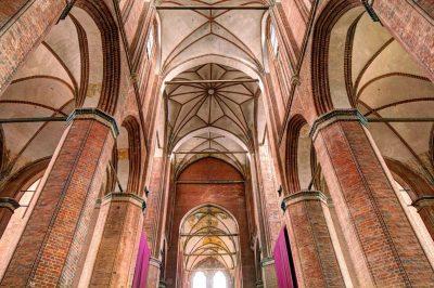 Georgenkirche, Gewölbe, Wismar